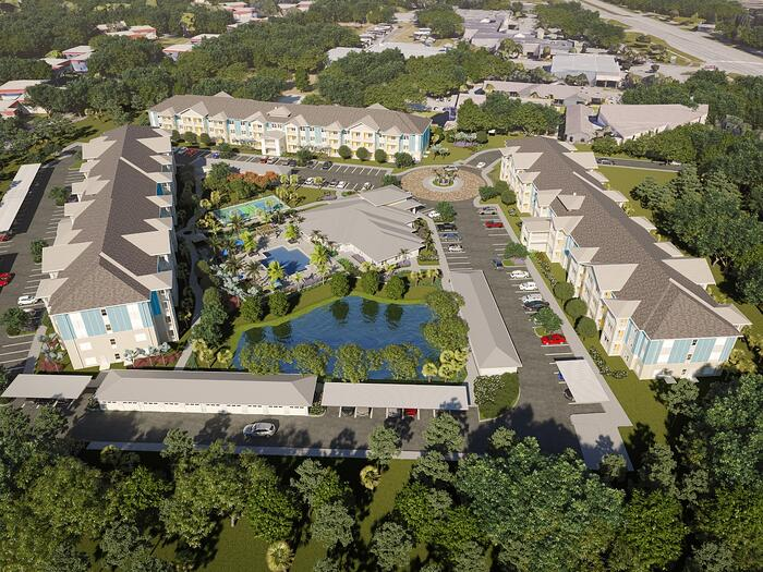 NAHB Names The Sovana at Stuart Nation's Best 55+ Market Rate Community (on the Boards)