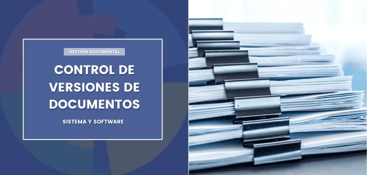 control versiones documentos