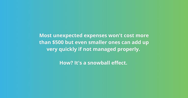 The financial snowball effect: How do we stop it?