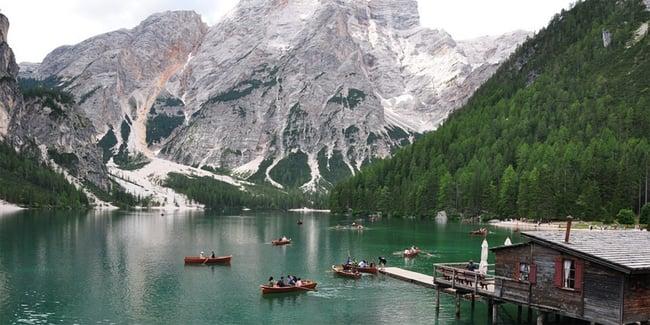 Turismo di massa nella regione alpina