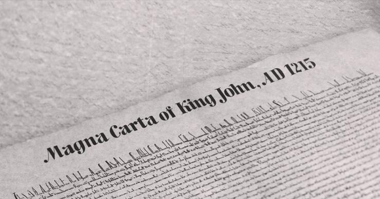 1st Financial Bank USA remembers the Magna Carta