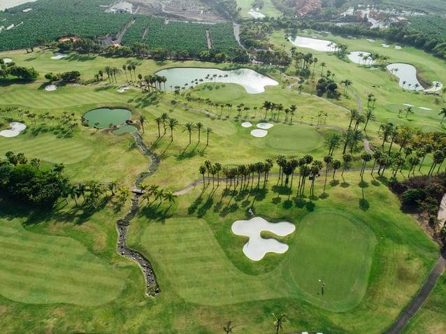 El campo del resort golf Abama es uno de los más aplaudidos por expertos y amateurs.