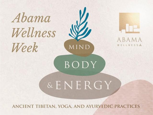Ayurveda and Tibetan practices at Abama Wellness Week