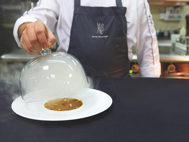 Erlantz Gorostiza: Küchenchef unseres Michelin Restaurant Teneriffa