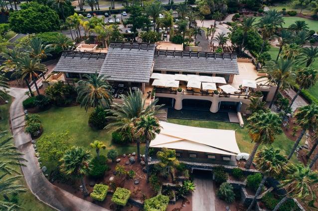 Abama es el campo de golf Tenerife sur con mejores prestaciones de España.