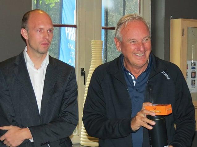 Le tournoi de golf d'Abama Resort continue en Belgique