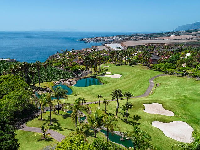 Visit the best golf resorts: Abama Tenerife
