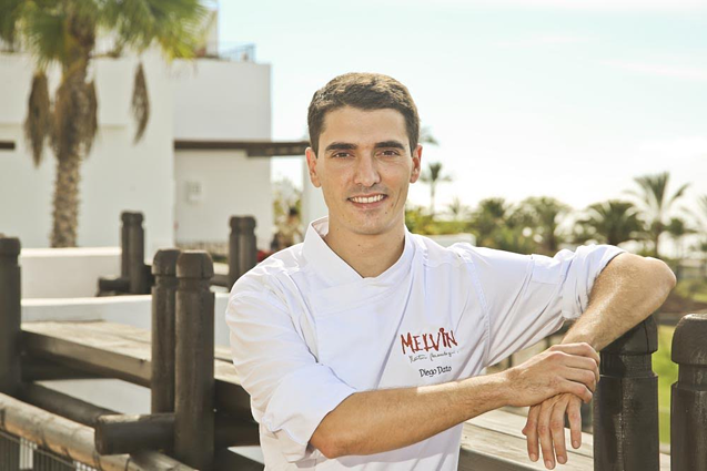 Diego Dato, chef of Martin Berasategui's restaurant Melvin at Abama