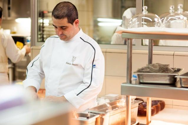 Erlantz Gorostiza, Chef von Abamas Zwei-Sterne-Restaurant Teneriffa