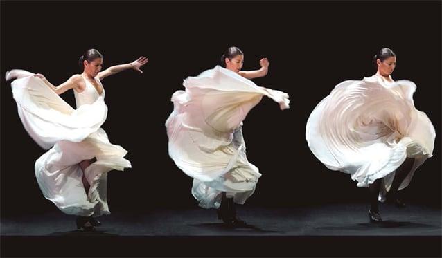 Icône culturelle du flamenco espagnol, Sara Baras