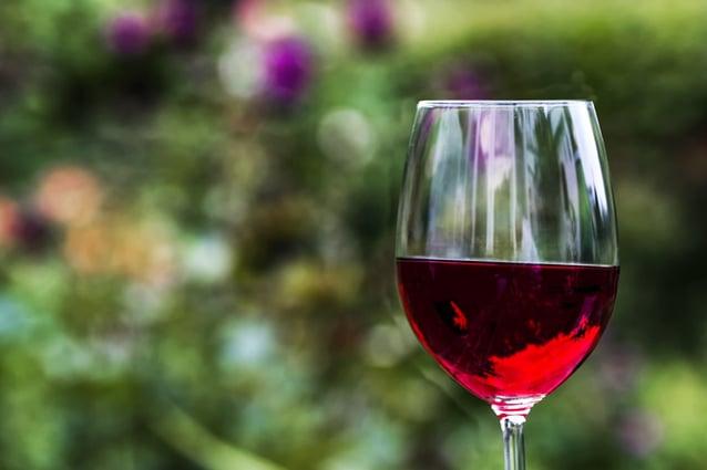 Kanarische Wein unter Wasser gelagert
