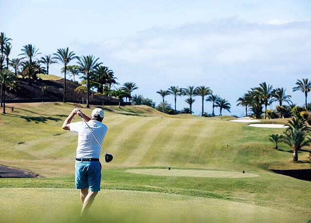 Golfen Teneriffa im Winter