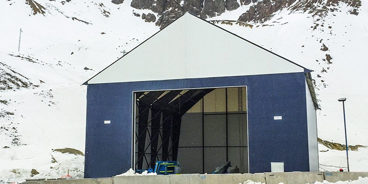 Mining - Chile - Tension Fabric Buildings