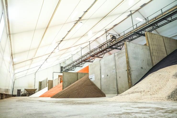 Fertilizer Storage - Fabric Building