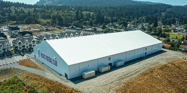 Pacific Football Club - Tension Fabric Athletic Facility