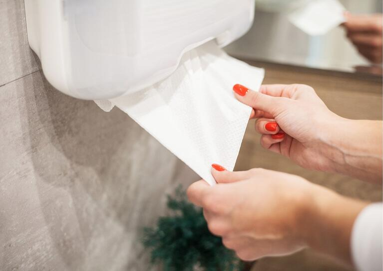 The One Paper Towel Technique