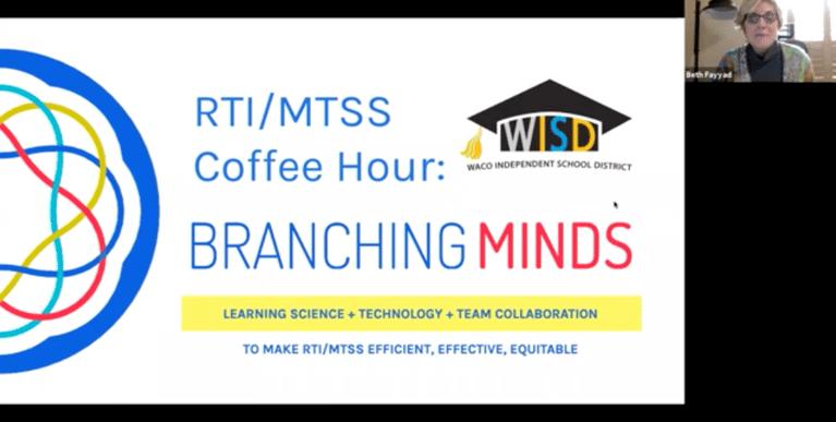 RTI / MTSS Coffee Hour with Waco ISD (Feb '20 video)