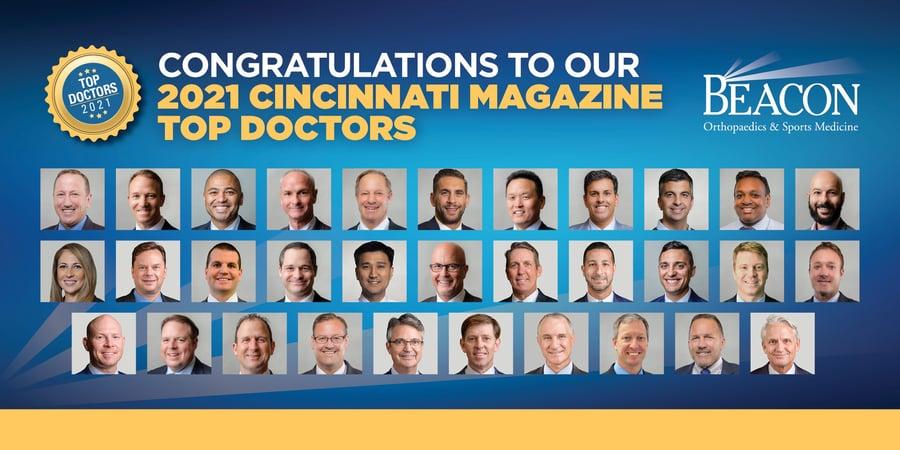 Cincinnati Magazine Top Doctors 2021