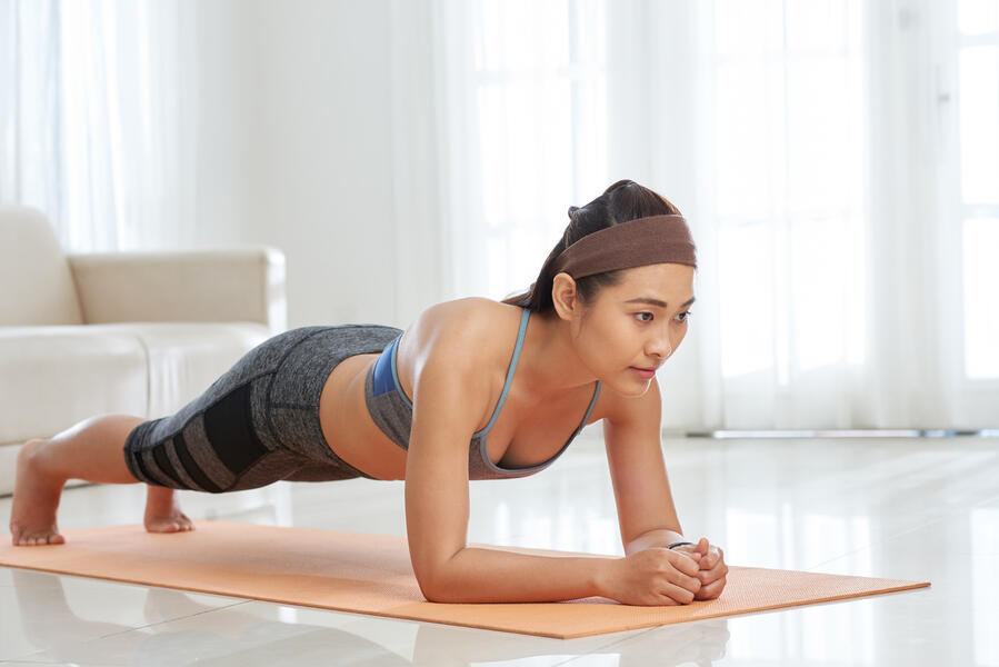 5 Tips for Getting Back in Shape at Home