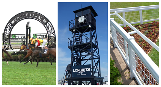 More than starting gates from Steriline Racing - Winning Posts, Clock towers, Fencing and more