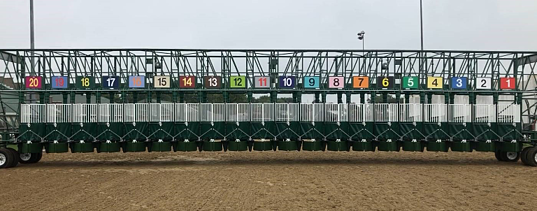 Steriline 20 stall racing gate for Kentucky Derby