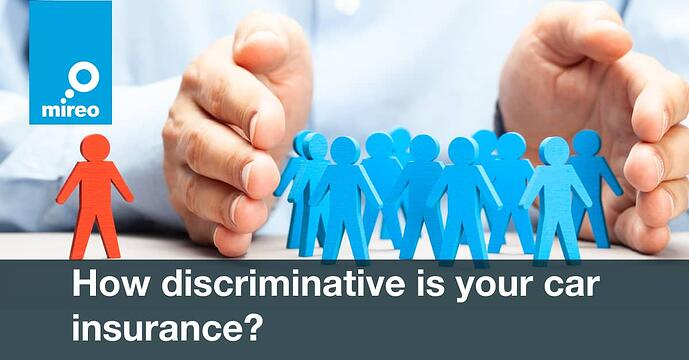 How discriminative is your car insurance?