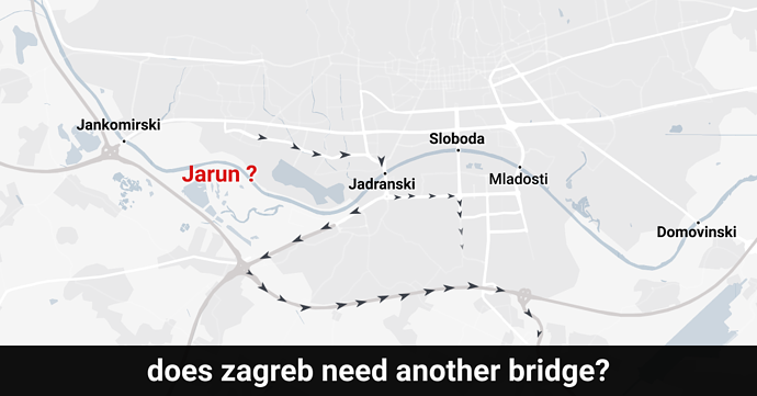 Does Zagreb need another Sava bridge?