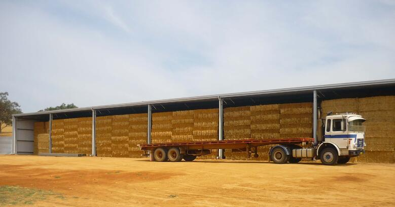 How a hay shed saves you money