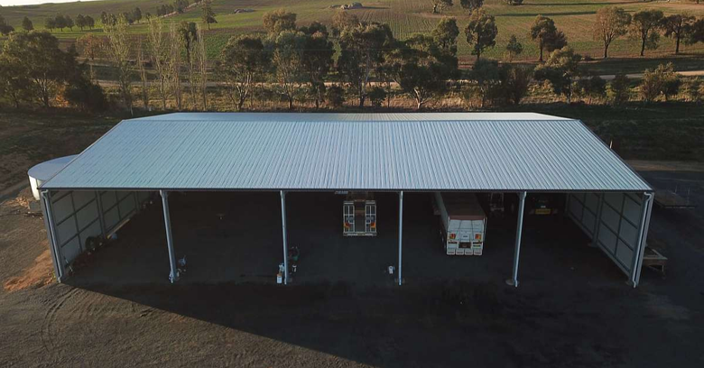 Designing a farm machinery shed