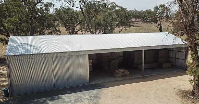 4 things to consider when building a hay shed