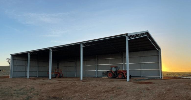 Purlin versus structural steel sheds