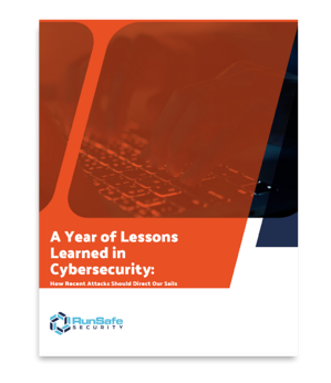 A Year of Lessons Learned in Cybersecurity