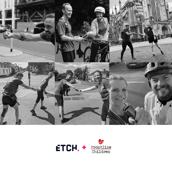Team Etch take on 180 mile relay