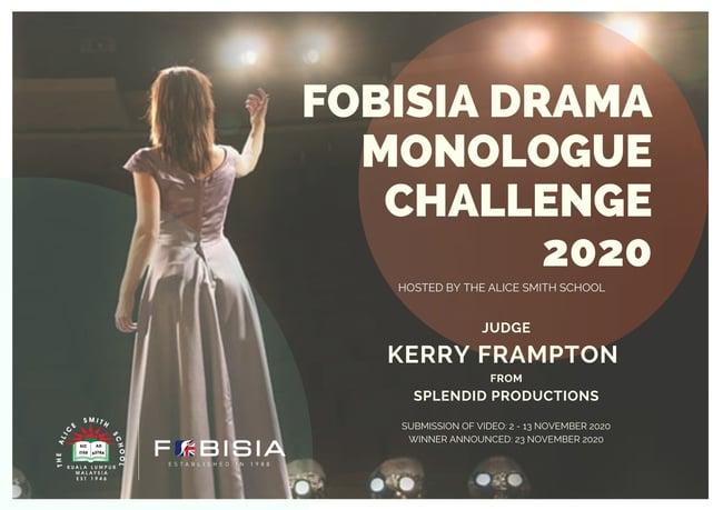 FOBISIA Drama Online Monologue Challenge