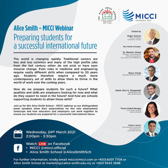 Webinar: Preparing students for a successful international future
