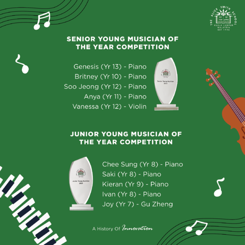 🎼Ivan and Soo Jeong are Our Young Musicians of the Year