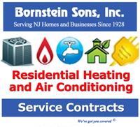 Bornstein Sons offers Service Contracts for heating and ac systems