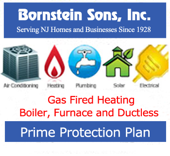 Save money on heating repairs with Bornstein Sons Prime Protection Plan