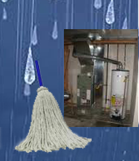 Flooded basement? Replace your water heater.