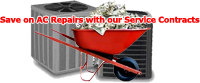 Save money with Bornstein Sons Air Conditioning Service Contracts
