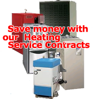 Save money with Bornstein Sons Heating Service Contracts