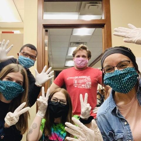 Allegiance Employees In Masks