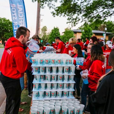 5k Run Volunteer Event