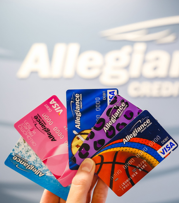 Alligiance Visa Debit Cards