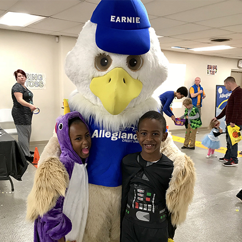 Earnie and kids