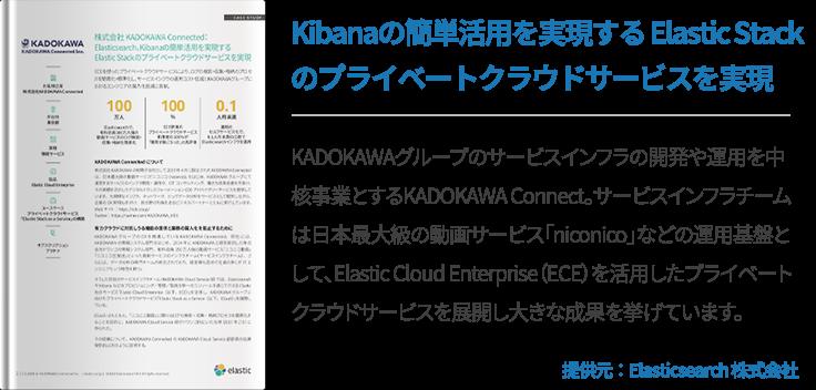 Kibanaの簡単活用を実現する Elastic Stackのプライベートクラウドサービスを実現