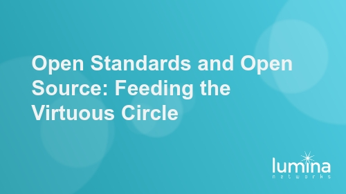 Open Standards and Open Source: Feeding the Virtuous Circle