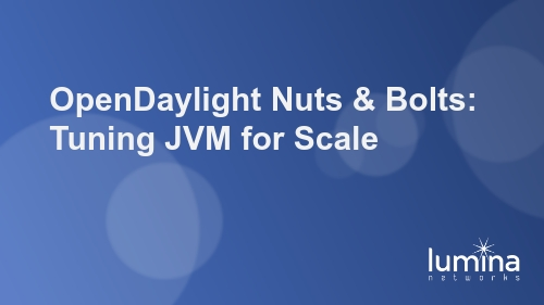 OpenDaylight Nuts & Bolts: Tuning JVM for Scale