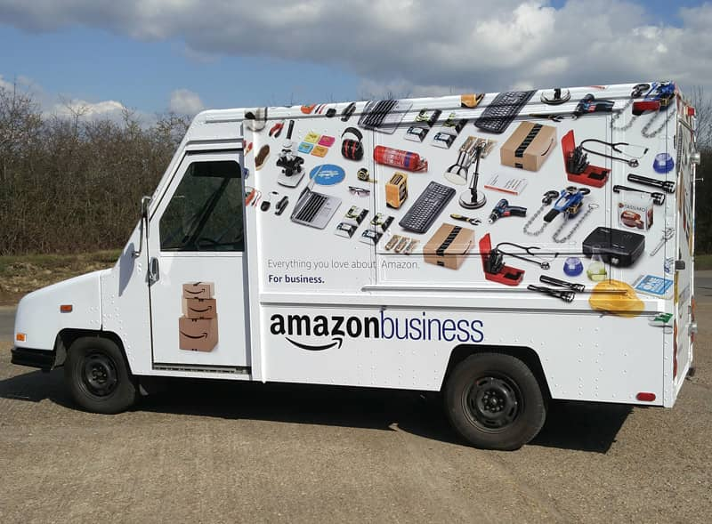 Amazon Business Truck Wrap