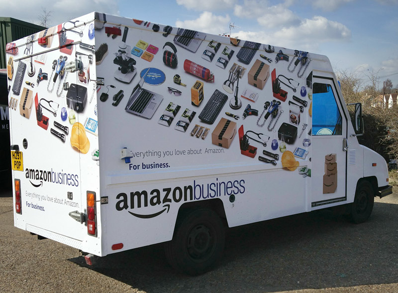 Amazon Business Branded Truck
